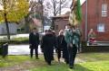 Volkstrauertag 2010 in Dollbergen, Delegation Schützenverein.