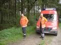 Die Freiwillige Feuerwehr war sofort zur Stelle.