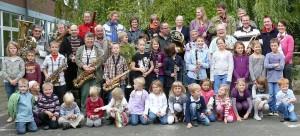 Blasorchester Dollbergen, mit Jugendgruppe und Minis