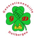 Logo in Form eines Kleeblatts.